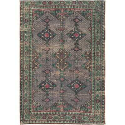 Nicole Hand-Woven Rectangle Neutral/Pink Area Rug Rug Size: Rectangle 5 x 76