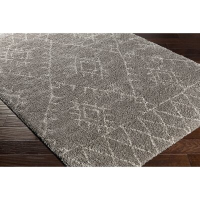 Wylie Gray Area Rug Size: Rectangle 711 x 1011