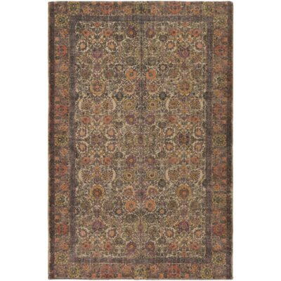 Forrestal Hand-Woven Neutral/Black Area Rug Rug Size: Rectangle 8 x 10