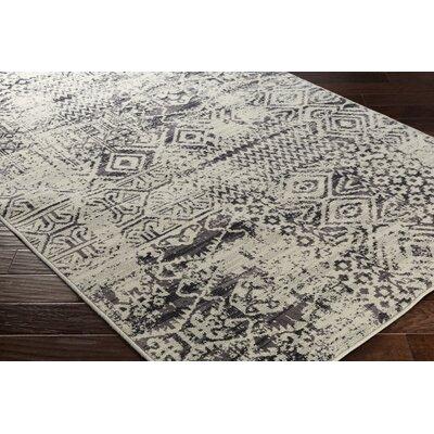 Zita Gray Area Rug Rug Size: 810 x 129