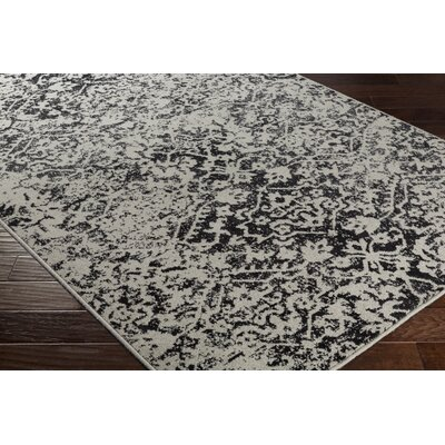 Quincy Beige/Black Area Rug