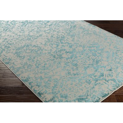 Quincy Beige/Blue Area Rug