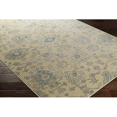 Lola Beige Area Rug Rug Size: Rectangle 53 x 73