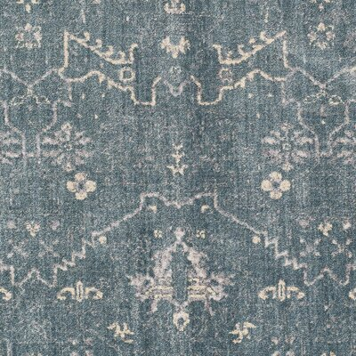 Lola Blue Area Rug Rug Size: Rectangle 810 x 129