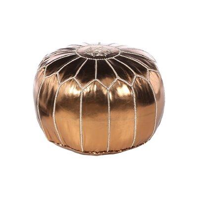 Carolos Pouf Upholstery: Bronze