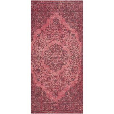 Shaniya Pink Area Rug Rug Size: 9 x 12