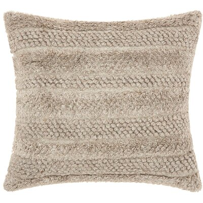 Sanjay Throw Pillow Color: Linen