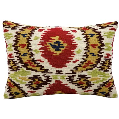 Sarahi Wool Lumbar Pillow