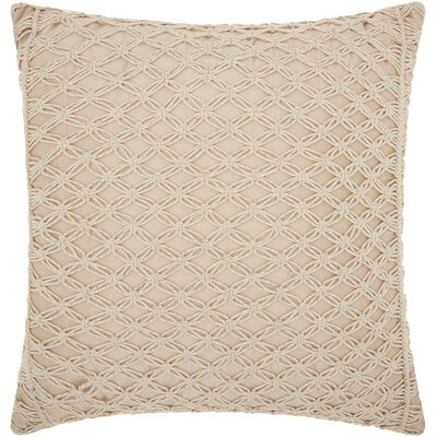 Dennet Zipper Throw Pillow