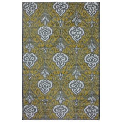 Lagouira Yellow Area Rug Rug Size: 76 x 10