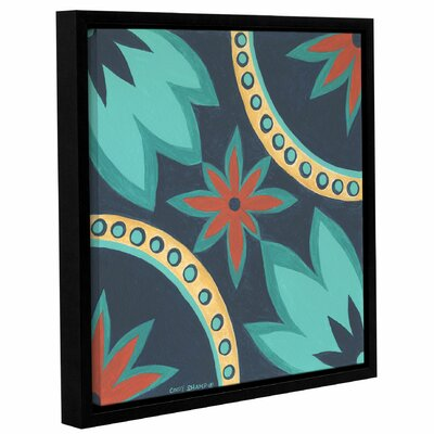 Boho Chic 1 Framed Painting Print on Wrapped Canvas