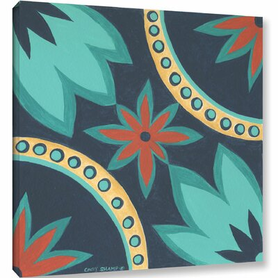 Boho Chic 1 Painting Print on Wrapped Canvas