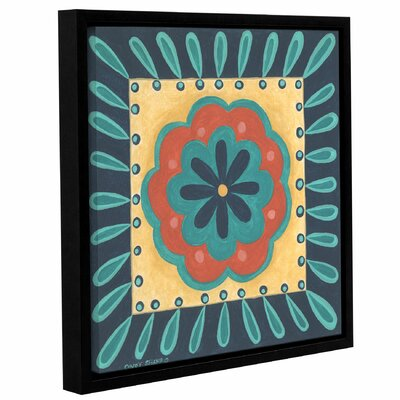 Boho Chic 4 Framed Painting Print on Wrapped Canvas