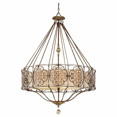Villeroy 4-Light Drum Chandelier