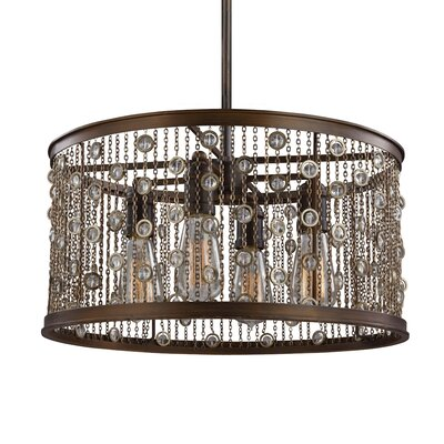 Henderson 4-Light Drum Pendant