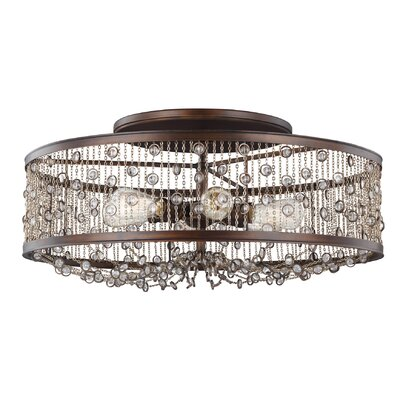 Henderson 6-Light Semi Flush Mount