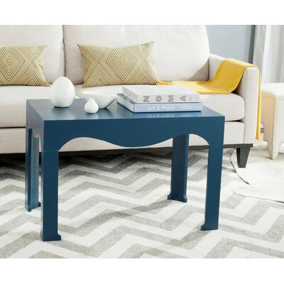 Dunlin Coffee Table Color: Dark Blue