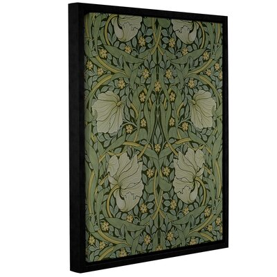 Pimpernel Wallpaper Design, 1876 2 Framed Graphic Art on Wrapped Canvas