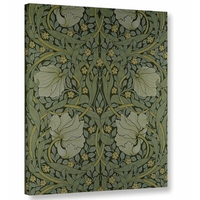 Pimpernel Wallpaper Design, 1876 2 Graphic Art on Wrapped Canvas