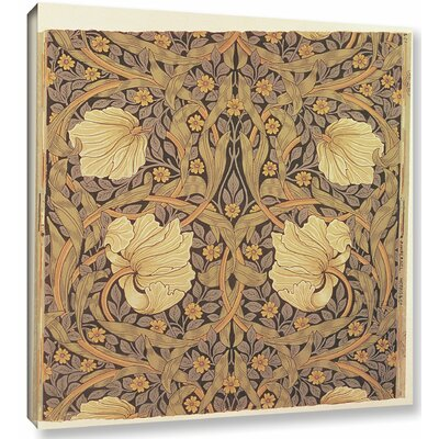 Pimpernel Wallpaper Design, 1876 Graphic Art on Wrapped Canvas