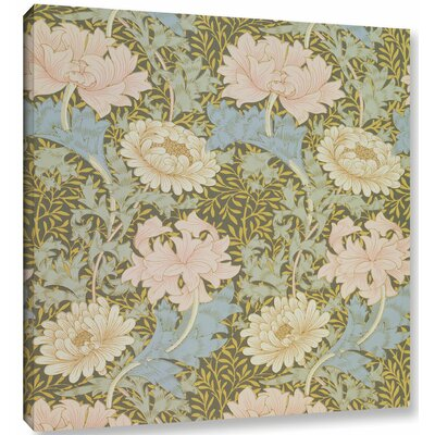 'Chrysanthemum Wallpaper Design, 1876' 2 Graphic Art on Wrapped Canvas Size: 10