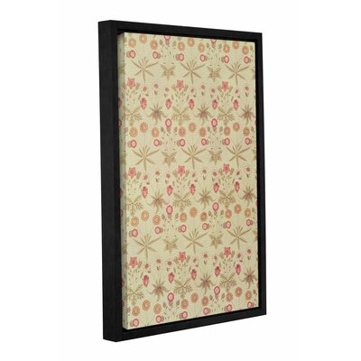 'Daisy Wallpaper Design, 1862' Framed Graphic Art on Wrapped Canvas Size: 12