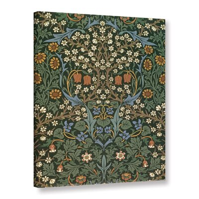 'Blackthorn Wallpaper, 1892' Graphic Art on Wrapped Canvas Size: 10