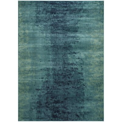 Makenna Blue Area Rug Rug Size: Rectangle 53 x 76
