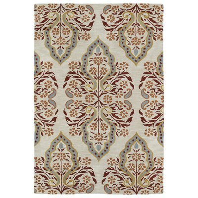 Jefferson Hand-Tufted Area Rug Rug Size: 3 x 5