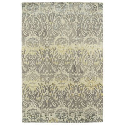 Browning Hand-Tufted Silver Area Rug Rug Size: Rectangle 2 x 3