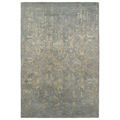 Browning Hand-Tufted Pewter Green / Bronze Area Rug Rug Size: 2 x 3