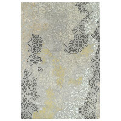 Jeffrey Handmade Area Rug Rug Size: Rectangle 36 x 56