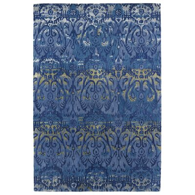 Browning Hand-Tufted Blue Navy Area Rug Rug Size: Rectangle 36 x 56