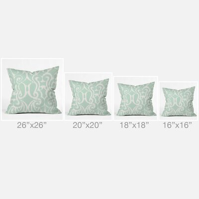Gagnon Outdoor Throw Pillow Size: 18 H x 18 W x 5 D