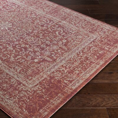 Anil Red Area Rug Rug Size: Rectangle 22 x 3