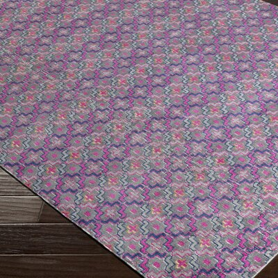 Fredonia Pink Area Rug Rug Size: Rectangle 53 x 73