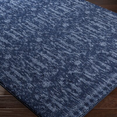 Carmel Blue Area Rug Rug Size: Rectangle 710 x 1010