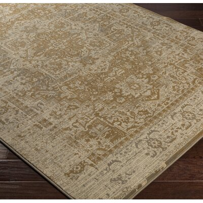 Argentine Brown Area Rug Rug Size: Rectangle 53 x 73