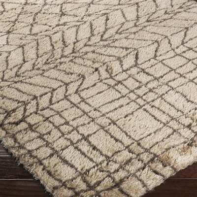 Burbank Brown Area Rug Rug Size: 8 x 10