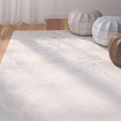 Hobscheid Light Grey / Ivory Contemporary Rug