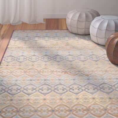 Saint-Michel Mauve Wilton Area Rug Rug Size: Rectangle 76 x 106