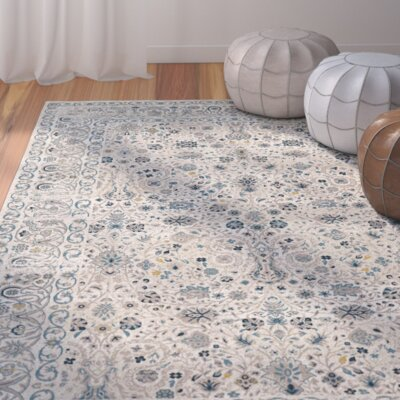 Zennia Blue Area Rug