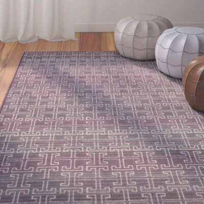 Saint-Michel Mauve/Multi Area Rug Rug Size: Rectangle 33 x 57