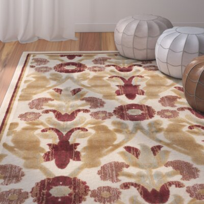 Saint-Michel Creme Rug Rug Size: Rectangle 53 x 76