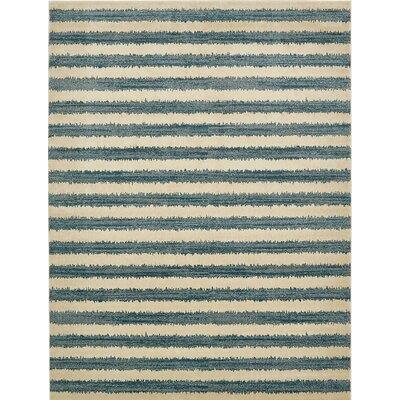 Randeep Blue/Beige Area Rug Rug Size: 7 x 10