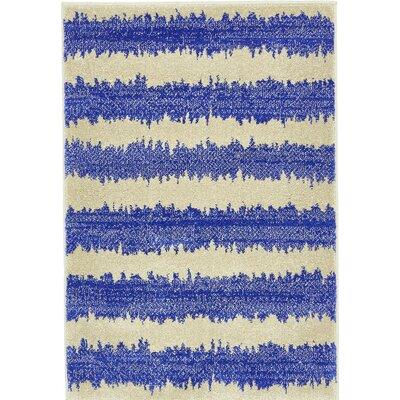 Randeep Blue/Beige Area Rug Rug Size: 8 x 11