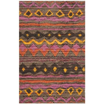 Veropeso Hand Woven Area Rug Rug Size: Rectangle 5 x 8