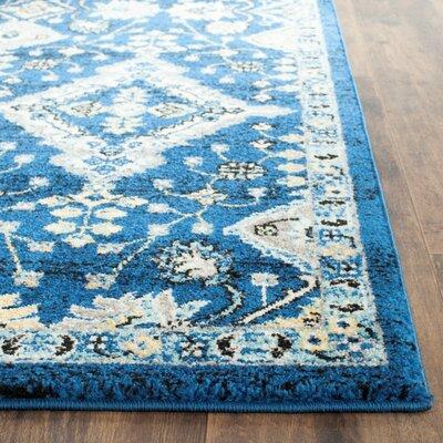 Ameesha Blue Area Rug Rug Size: 3 x 5