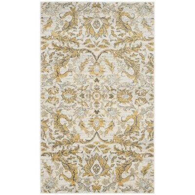 Ameesha Ivory/Gold Area Rug
