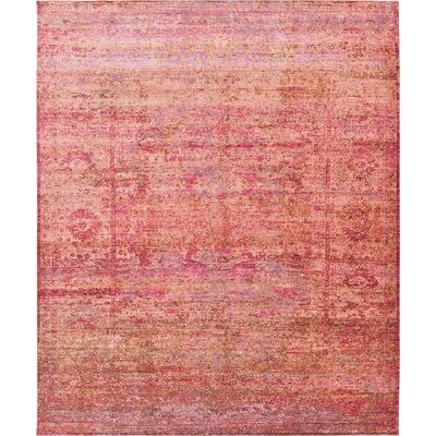Rune Red Area Rug Rug Size: 13' x 16'5